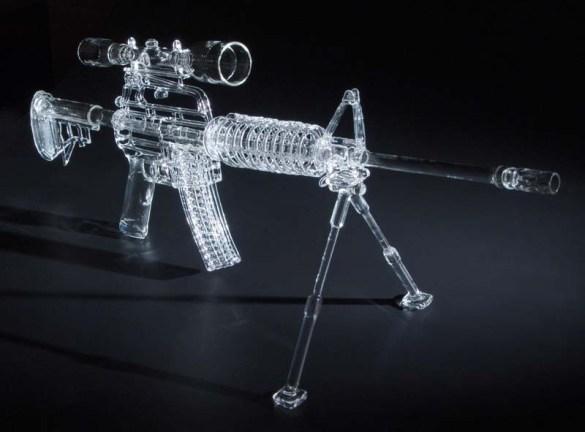 AR-15 Rifle Bong