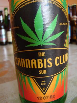The Cannabis Club beer