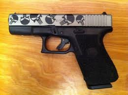 Glock 19 Punisher Edition