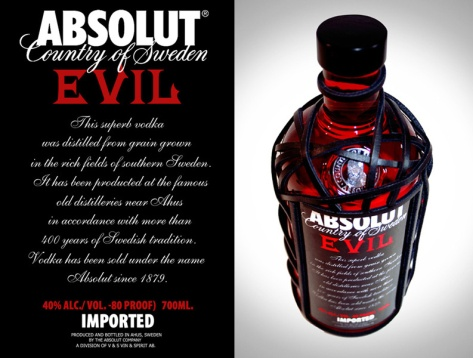 Absolut Evil Limited Edition