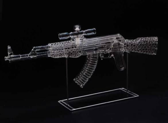 Ak-47 Glass Bong (picture)