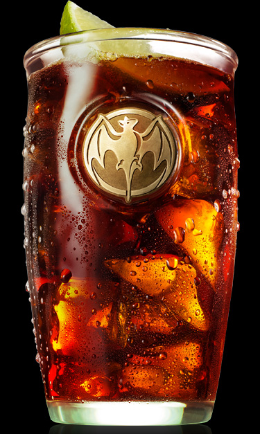 Bacardi Superior & Cola Drink Recipe (look)