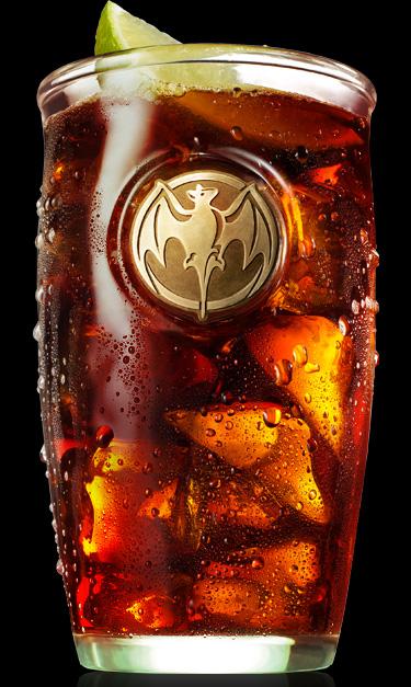 Bacardi Superior & Cola Drink Recipe (look)