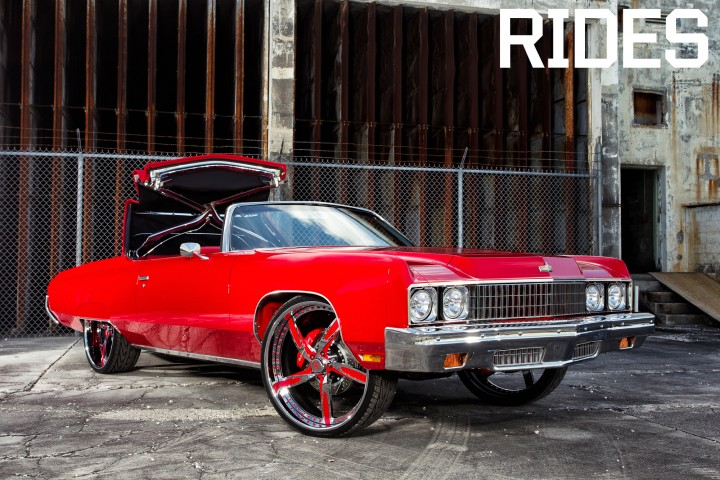 Rick Ross Donk Vert Game 1973 Caprice Classic The