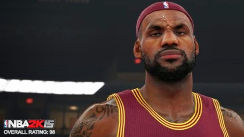 NBA 2K15 Full Player Ratings by Position