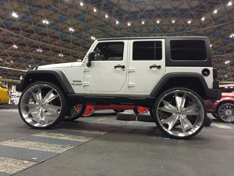 Jeep Wrangler on 34 Inch Wheels and Tires (Photos) – The Cannabis