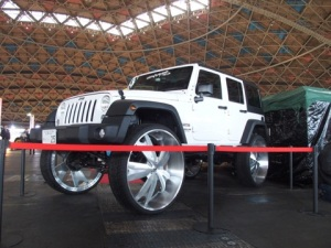 Jeep Wrangler On 34 Inch Wheels And Tires Photos The