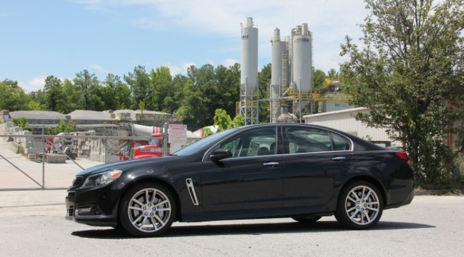 2015 Chevy SS – Is This The Four Door Camaro? (A to B)