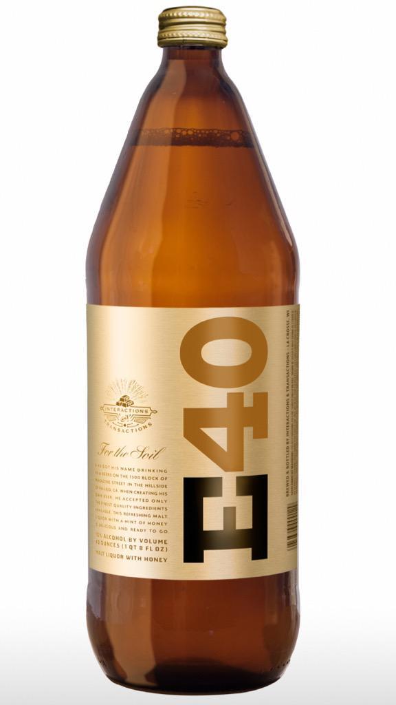 E-40 Announces 40-Ounce Malt Liquor (News)