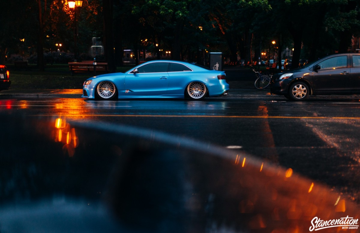 Chick Magnet // Andrew Hoffman's Audi S5 (Stanced Rides)