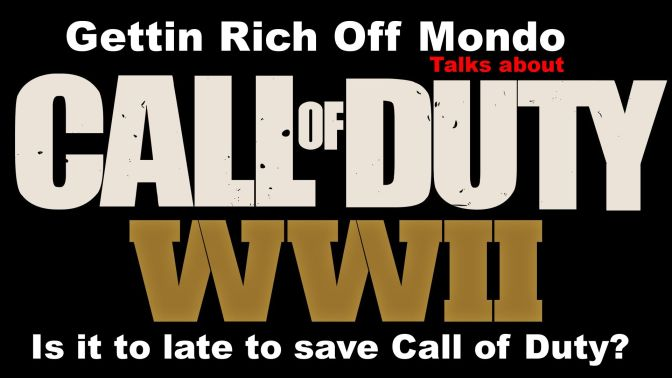 Call Of Duty WWII – Sledgehammer Games – Is It Too Late Too Call Of Duty?